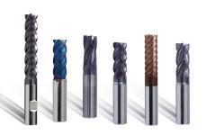 For machining steel, high grade steel ans titan (incl. hard machining)